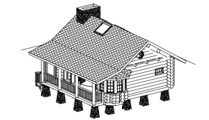 Gunstock (700 sq. feet) View PDF Plan